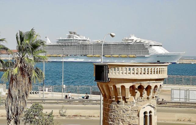 """Die """"Harmony of the Seas"""" wird im September vier Zwischenstopps auf Mallorca einlegen"""