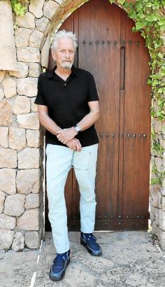 Weltstar Michael Douglas auf Mallorca.