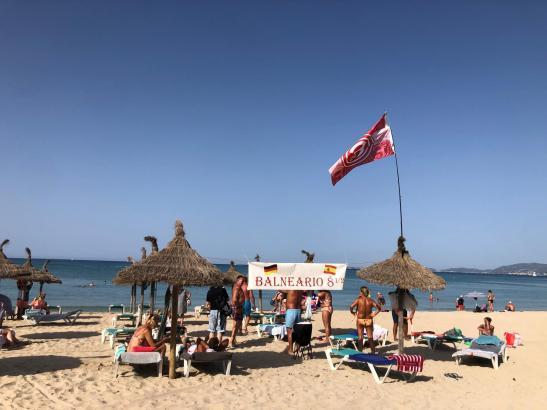 Das touristische Strandleben wird sich bis in den Herbst fortsetzen können.