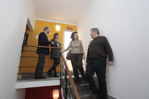 palma armengol visita el nuevo albergue de la playa de palma foto m