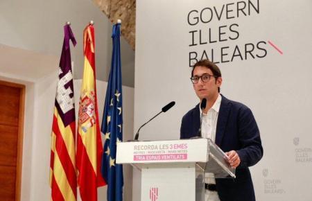 Der balearische Regierungssprecher und Tourismusminister Iago Negueruela