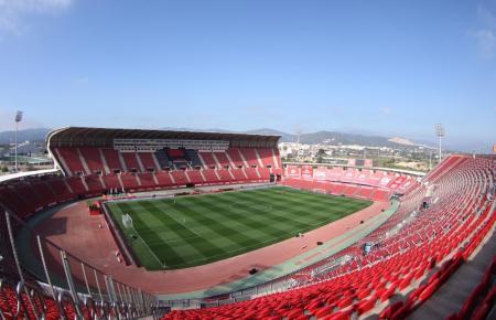 Im Visit Mallorca Estadi dürfen bald 13.000 Zuschauer Platz nehmen.