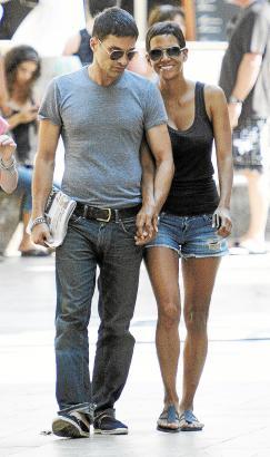 Halle Berry mit Freund Martinez