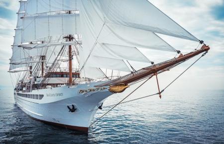 Pure Eleganz auf dem Meer: Der Großsegler Sea Cloud Spirit.