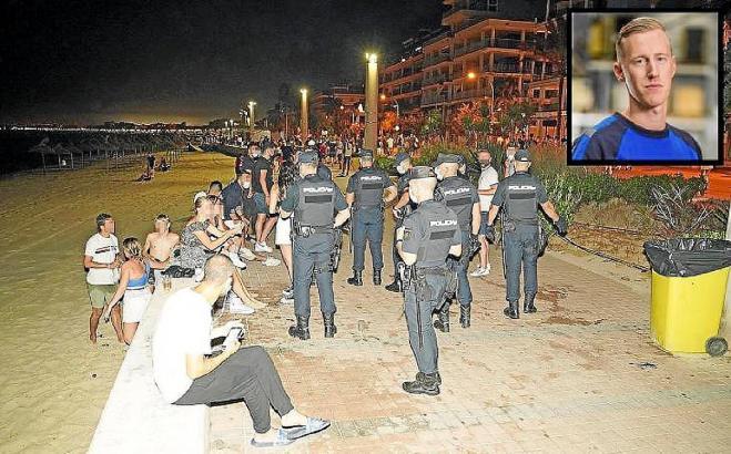 Carlo H. war 27 Jahre alt und starb nachdem er am 14. Juli an der Playa de Palma brutal zusammengeschlagen worden war.
