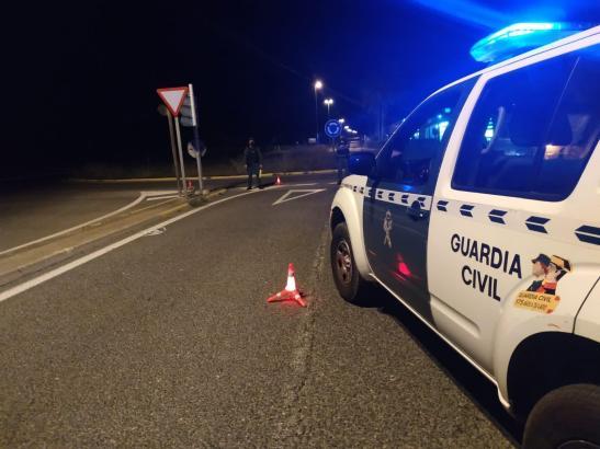 Beamte der Guardia Civil führten in der Gegend Razzien durch und fanden den Dieb.