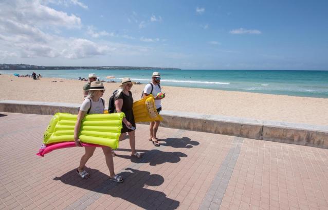 Bei deutschen Touristen bleibt die Playa de Palma beliebt.