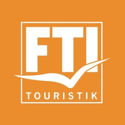 Das Logo des Reiseveranstalters FTI.