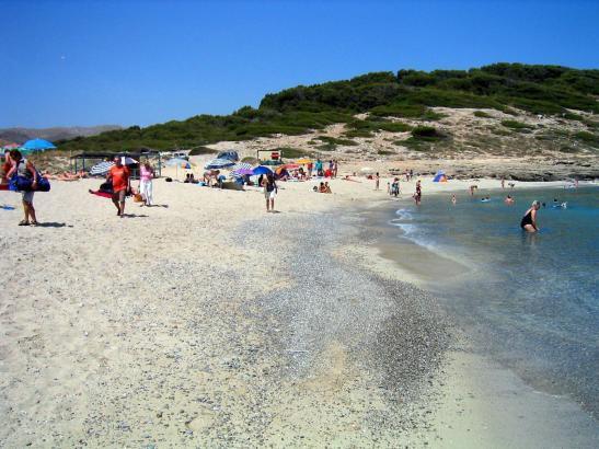 Die Cala Torta befindet sich im Nordosten von Mallorca.