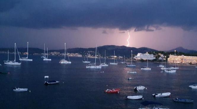 In den kommenden Tagen kann es auf der Insel vermehrt zu Regenschauern kommen.