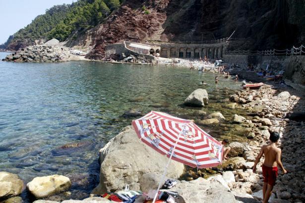 Die Cala Estellencs befindet sich im Nordwesten von Mallorca.