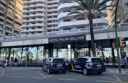 Im Hotel Palma Bellver werden Infizierte und deren enge Kontakte untergebracht.