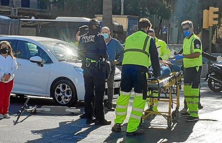 Auf Mallorca kommt es in den vergangenenen Wochen immer häufiger zu Unfällen mit E-Rollern.