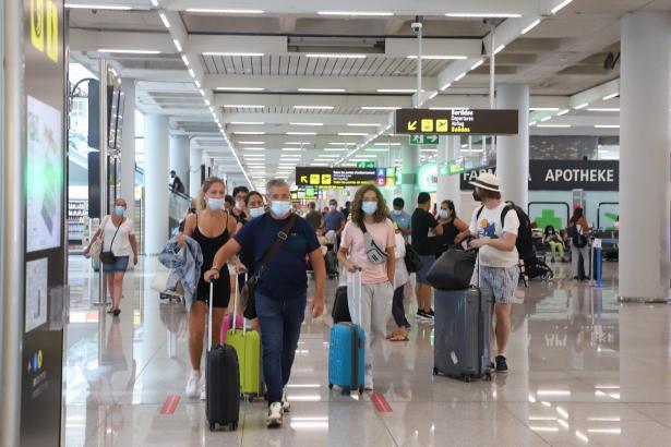 Der Flughafen Son Sant Joan verzeichnete im August 2,6 Millionen Fluggäste.