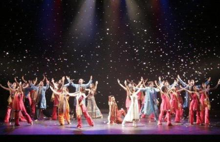 Bollywood-Show in London.