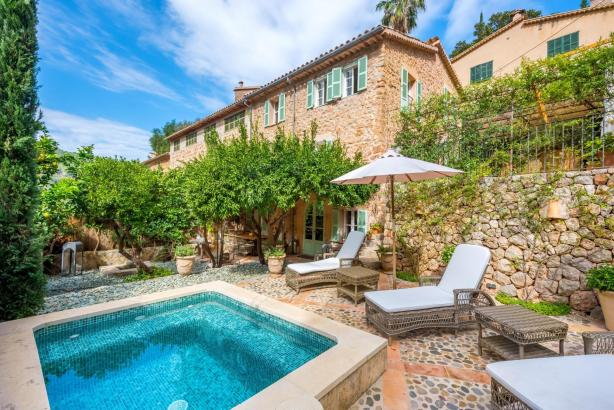 Luxusimmobilie auf Mallorca.