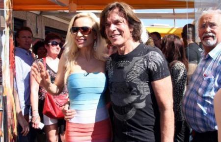 Drews vor einigen Jahren mit seiner Frau Ramona auf Mallorca.