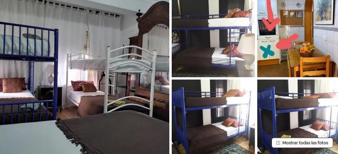 Auf Airbnb werden mittlerweile auch Zimmer in eher weniger touristisch frequentierten Gebieten in Palma angeboten.