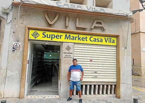 Jetzt ist das alte Geschäft ein Supermarkt.