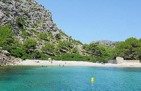 Die Cala Murta befindet sich auf der Formentor-Halbinsel.