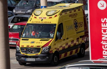Die Frau wurde in ein Krankenhaus nach Muro gebracht.