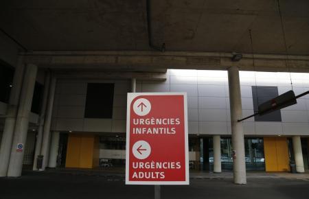 Die verletzte Frau wurde in das Krankenhaus Son Espases in Palma gebracht.