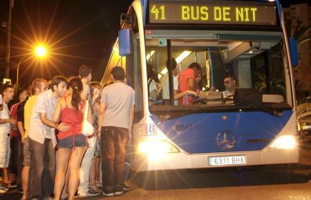 Die Normalität stellt sich auch nachts wieder ein in Palma.