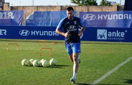 Atlético-Baleares-Kicker Luca Ferrone (hier ein Archivbild) sorgte für den 2:2-Endstand.