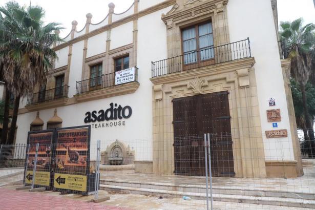 Das Verkaufsschild am Asadito wurde inzwischen entfernt.