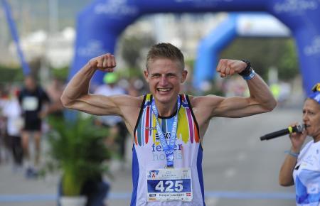 Eindrücke aus dem Archiv: 2018 gewann Kasper Laumann den Marathon.