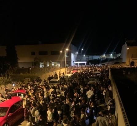 So ging es in der Nacht zum Samstag in Muro zu.