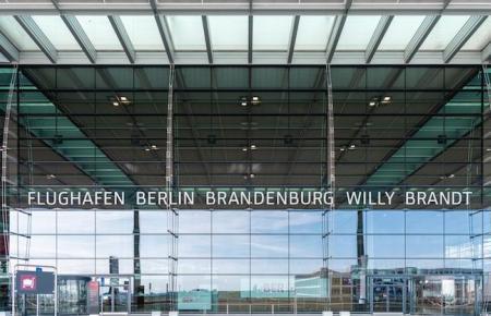 Der Flughafen Berlin-Brandenburg ist brandneu.