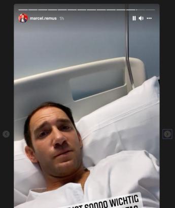 Marcel Remus meldet sich bei seinen Fans aus dem Krankenhaus.