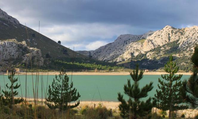 Der Cúber-Stausee befindet sich im Nordwesten des Tramuntana-Gebirges.