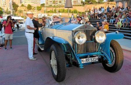 In diesem Jahr ist die Teilnehmerzahl auf 50 klassische Autos beschränkt.