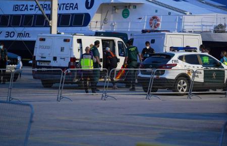 """Elf Flüchtlingsboote, sogenannte """"Pateras"""", erreichten in den frühen Morgenstunden Mallorca und Ibiza."""