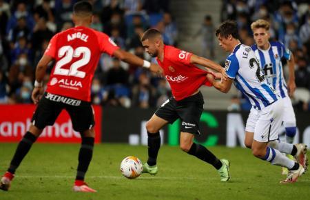 Der Inselclub Real Mallorca musste sich am Samstag im Baskenland mit 0:1 geschlagen geben.