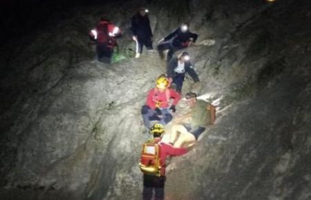 Ein Bild von der Rettungsaktion.