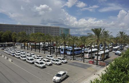 Der Flughafen von Palma wird gern von Taxifahrern angesteuert.
