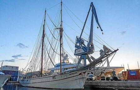 Die Cala MIllor in der Werft.