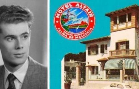 Gabriel Escarrer Juliá als junger Hotelier vor seinem ersten Haus namens Altair.