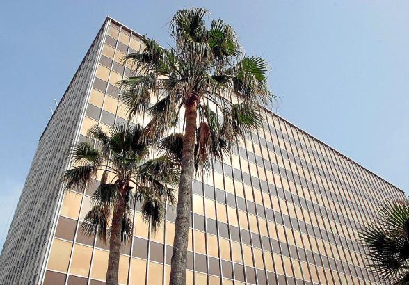 PALMA. GESA. EDIFICIO DE GESA EN PALMA. MAS FOTOS EN EL DISCO DEL 17-05-2006