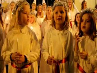 Santa-Lucia-Fest der Schweden