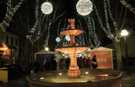 Weihnachtlicher Lichterglanz in Palma