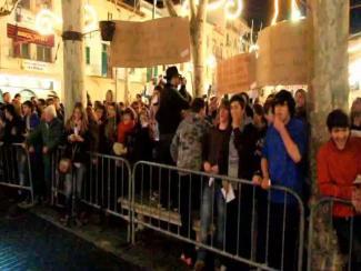 Proteste zu Sant Antoni in Sa Pobla