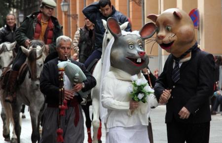Tiersegnung zu Sant Antoni in Palma