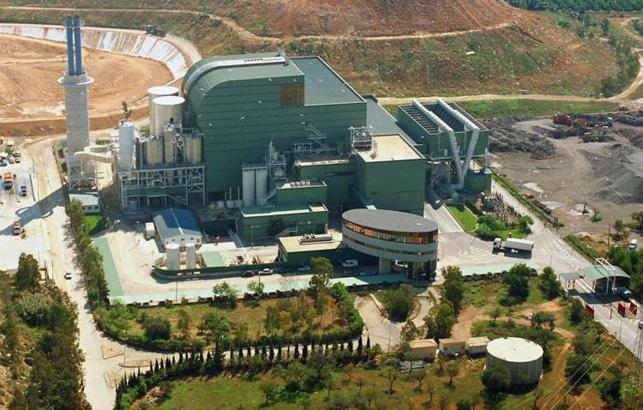 Müllverbrennungsanlage Son Reus bei Palma.