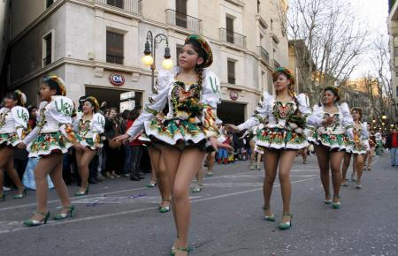 """Karnevalsumzug """"Sa Rua"""" in Palma 2012"""