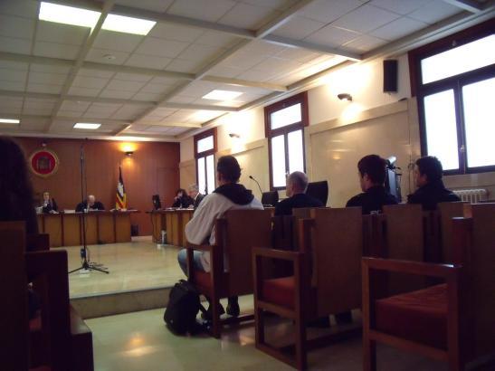 Die Täter mussten sich in Palma vor Gericht verantworten.