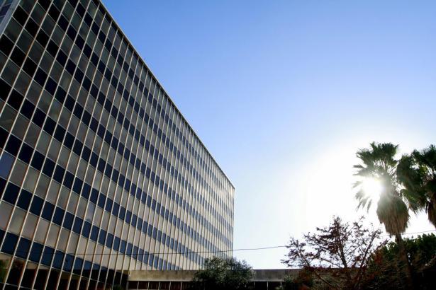 Die ehemalige Firnenzentrale des Energieversorgers Gesa steht seit einigen Jahren leer.